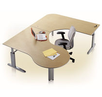 contemporary height adjustable office desk GENESIS ® KI