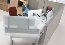 contemporary height adjustable office desk SERIES 7 Details
