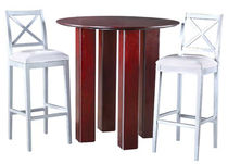 contemporary high bar table FUSION LEDA Furniture