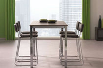 contemporary high bar table CIELO Unic Design