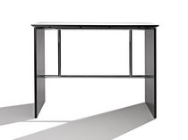 contemporary high bar table SHARP BAR by Thore Lassen R. Randers