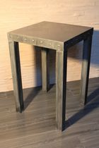 contemporary high bar table (zinc)  Dezinc