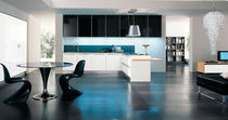 contemporary high gloss lacquered kitchen CRETA copat