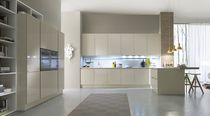 contemporary high gloss lacquered kitchen SYSTEM COLLECTION Pedini