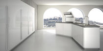 contemporary high gloss lacquered kitchen SINUOSA by Giancarlo Vegni EFFETI INDUSTRIE