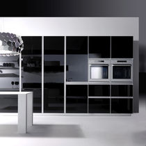 contemporary high gloss lacquered kitchen UNIKA by Giancarlo Vegni EFFETI INDUSTRIE