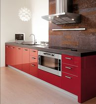 contemporary high gloss lacquered kitchen EXTRA SIZE MK CUCINE