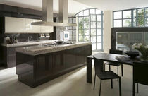 contemporary high gloss lacquered kitchen SL 909 SIEMATIC