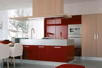 contemporary high gloss lacquered kitchen CREDENZA TONCELLI