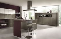 contemporary high gloss lacquered kitchen CRISTAL 2448  Brigitte