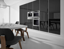 contemporary high gloss lacquered kitchen CRISTAL AND ECLISSE Corazzin Group - Contract &amp; hotel