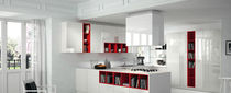 contemporary high gloss lacquered kitchen VITRA Alta