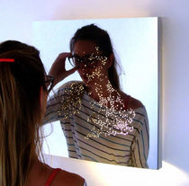 contemporary illuminated mirror SATELLIGHT Duffy London