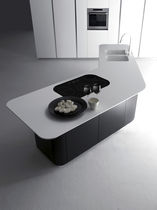 contemporary kitchen island SINUOSA by Giancarlo Vegni EFFETI INDUSTRIE