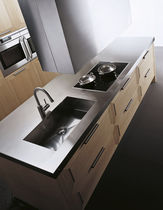 contemporary kitchen island DIAMANTE by Giancarlo Vegni  EFFETI INDUSTRIE