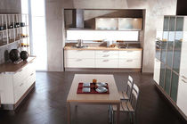 contemporary lacquer / glass kitchen FABIANA CUCINE LUBE