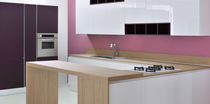 contemporary lacquer / glass kitchen SPACE GLASS by Centro Stile GeD GeD cucine