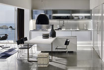 contemporary lacquer kitchen SPATIA:  COMPOSITION 4  by Antonio Citterio Arclinea