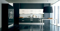 contemporary lacquer kitchen IRIDE copat