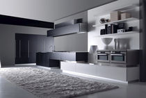 contemporary lacquer kitchen SEGNO by Giancarlo Vegni EFFETI INDUSTRIE