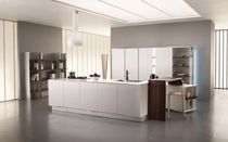 contemporary lacquer kitchen MORNING CALM by Team R&D Toncelli TONCELLI