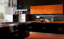 contemporary lacquer kitchen (with island) MARTINA  CUCINE LUBE