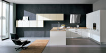contemporary lacquer kitchen (with island) FUTURA Corazzin Group - Contract & hotel