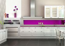 contemporary lacquer kitchen MING SAGNE