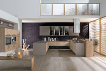 contemporary lacquer kitchen ASTER rustica clair PERENE
