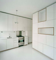 contemporary lacquer kitchen SOLARIS by Kirsi Gullichsen original habitek works