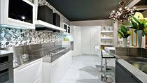 contemporary lacquer / stainless steel kitchen IBISCO LACCATA Arrex