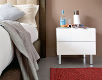 contemporary lacquered bed-side table INBOX : CS/6026-42 by S.T.C. Calligaris Italian home design since 1923