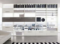 contemporary lacquered bookcase START - BIFACCIALE Clever