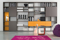 contemporary lacquered bookcase START - PARETE Clever