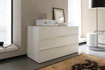contemporary lacquered chest of drawers ZERODUE : COMBY LIGHT  FRATELLI ROSSETTO