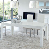 contemporary lacquered dining table GHOST unico italia