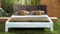 contemporary lacquered double bed LAVALO Nolte