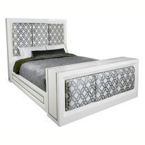 contemporary lacquered double bed SUTTON PHYLLIS MORRIS