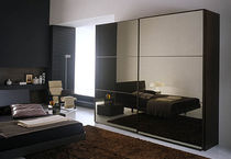 contemporary lacquered glass wardrobe TECNO VETRO VITTORIA