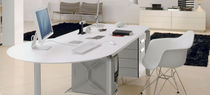 contemporary lacquered office desk WORKY ALBED