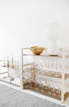 contemporary lacquered shelf TRE by Nina Jobs voice