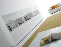 contemporary lacquered sideboard WHITECASE by B.Fattorini MDF Italia