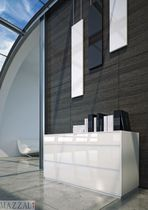contemporary lacquered sideboard SLIM mazzali spa