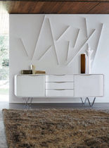 contemporary lacquered sideboard CEMIA by Peter Maly Ligne Roset France