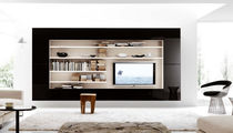 contemporary lacquered TV wall unit G021 NOVAMOBILI