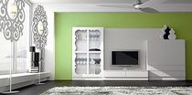 contemporary lacquered TV wall unit LC.10  COIM