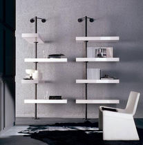 contemporary lacquered wall shelf DOMINO EXPO by T. Colzani Porada