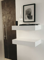 contemporary lacquered wall shelf TESIA by G. Maselli Porada