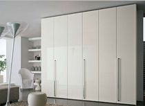 contemporary lacquered wardrobe  e