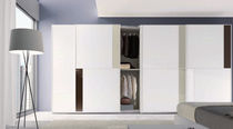 contemporary lacquered wardrobe with sliding doors  ANTAIX